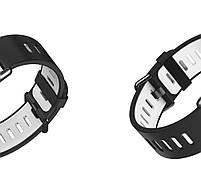 Amazfit Pace / Stratos / Stratos 2 Ремешок Black with white для смарт часов, ширина - 22 мм., фото 3