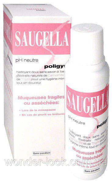 Гель для інтимної гігієни Saugella Poligyn Саугелла Полиджин з ромашкою