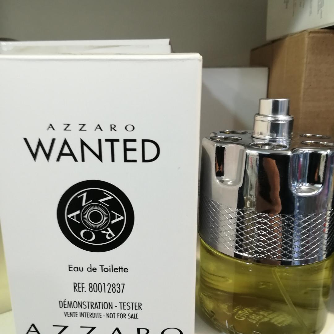 Тестер без крышечки духи мужские Azzaro Wanted