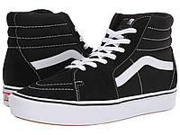 Кроссовки/Кеды (Оригинал) Vans ComfyCush SK8-Hi (Classic) Black/True White, фото 1