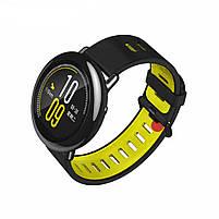 Amazfit Pace / Stratos / Stratos 2 Ремешок Black with yellow для смарт часов, ширина - 22 мм., фото 2