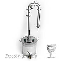 """Дистиллятор Доктор Градус """"Стиллмен 400"""" с кубом 17 литров"""