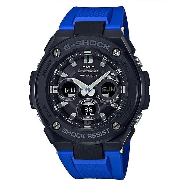 Часы Casio G-Shock G-Steel GST-S300G-2A1 TOUGH SOLAR