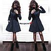 Теплое платье с пышной юбкой и длинным рукавом 9ty2405, фото 2