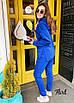 Женский спортивный трикотажный костюм свободный 36rt579, фото 3