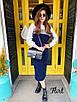 Ангоровый женский юбочный костюм 36st976, фото 3