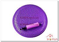 Подушка балансировочная фиолетовая