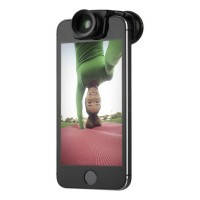 Объектив Olloclip Selfie 3-in-1 для iPhone 5/5S/SE