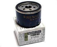 Фильтр масляный Renault Duster - 2.0i 16V (F4R). Оригинал Renault - 82 00 768 913