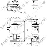 Электромагнитный клапан SIRAI L321V02G-ZA30A G1/4х2,3 110VAC, фото 2