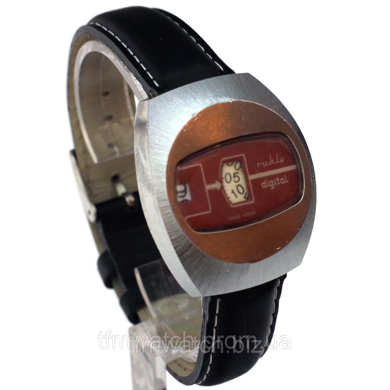 5e4094a9 Ruhla Digital made in GDR немецкие часы - Магазин старинных, винтажных и  антикварных часов TFMwatch