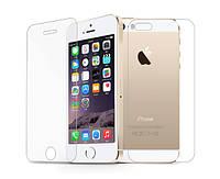 Защитное стекло (переднее+заднее) для Apple iPhone 5/5S/5SE