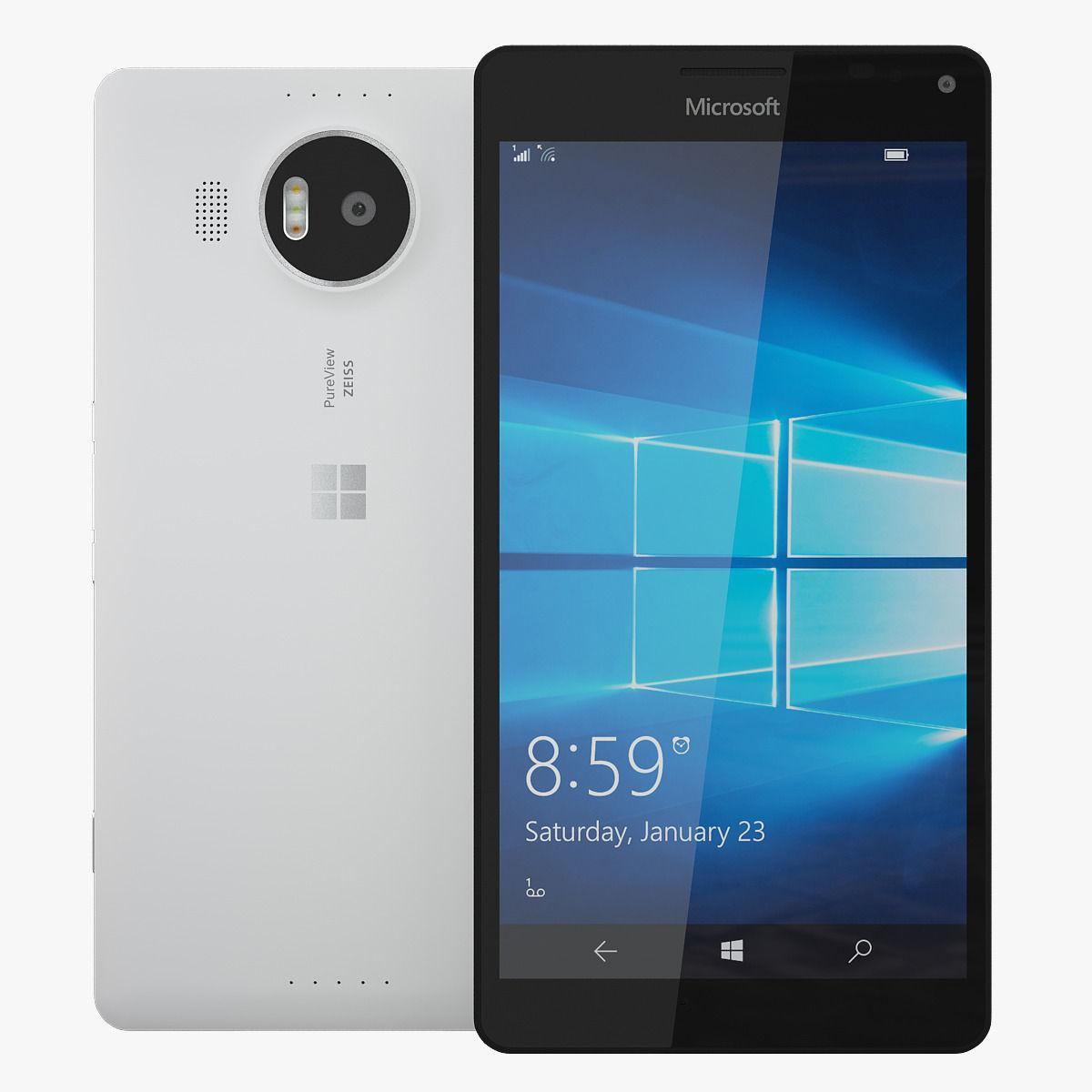 Смартфон Microsoft Lumia 950 XL Dual SIM 3/32gb  White Snapdragon 810 3340 мАч + подарки