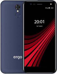 Смартфон ERGO V540 Level Dual Sim 2/16gb Blue/Black Mediatek MT6580A 3000 мАч