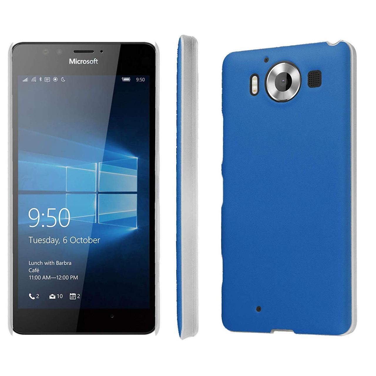 Смартфон Microsoft Lumia 950 Dual SIM Blue 3/32gb 3000 мАч Snapdragon 808 + подарки