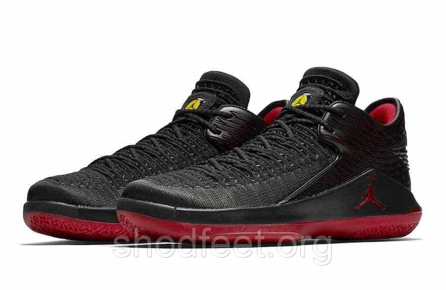 Баскетбольные кроссовки Air Jordan XXXII 32 Low Last Shot AA1256-003