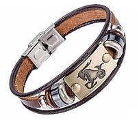 Кожаный браслет Primo Zodiac - Capricorn (Козерог)