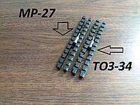 Планка на ТОЗ-34/ТОЗ-120, ИЖ-27, МЦ 21-12 с базой Weawer, аллюминиевый сплав