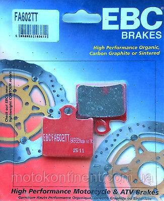 Мото колодки EBC FA602TT KTM SX 85/ KTM FREERIDE 250-350/  аналог FDB 2257