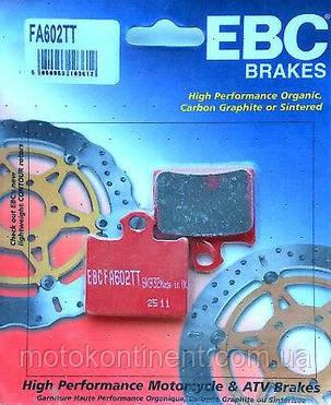 Мото колодки EBC FA602TT KTM SX 85/ KTM FREERIDE 250-350/  аналог FDB 2257, фото 2