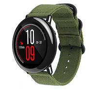 Нейлоновый ремешок Primo Traveller для часов Xiaomi Huami Amazfit Sport SmartWatch - Army Green