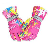 Горнолыжные перчатки Copozz (CPZ-GLV-200) / L - Pink