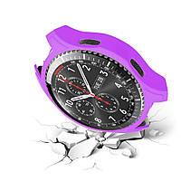 Силиконовый защитный корпус Primo для часов Samsung Gear S3 Frontier (SM-R760) - Purple