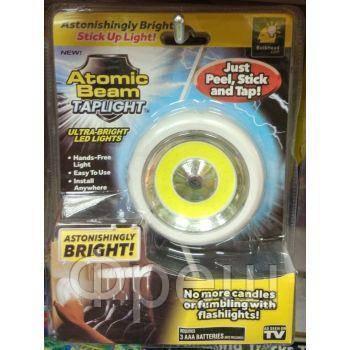 Универсальный точечный светильник Atomic Beam Tap Light!Скидка