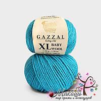 Пряжа Бэби вул XL Baby Wool XL Gazzal, 820, бирюза