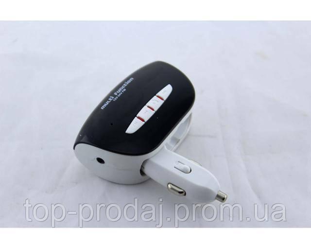 Трансмитер FM MOD. H21 + BT, Модулятор автомобильный, Трансмитер в машину, FM-трансмиттер от прикуривателя