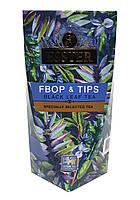 Чай черный среднелистовой с типсами Esster FBOP & tips 100 г в подарочной картонной упаковке