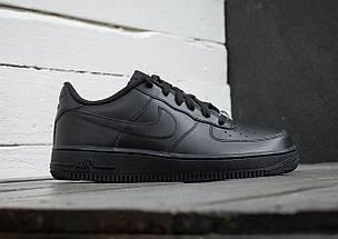 """Женские и мужские кроссовки Nike Air Force 1 Low """"Black"""", фото 2"""