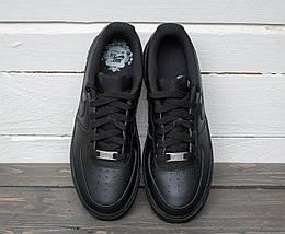 """Женские и мужские кроссовки Nike Air Force 1 Low """"Black"""", фото 3"""