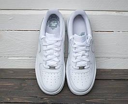 """Женские и мужские кроссовки Nike Air Force 1 Low """"White"""", фото 3"""