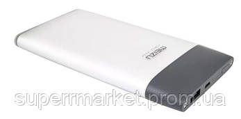 Внешний портативный аккумулятор Meizu M20 10000mAh QC3.0 Black Silver, фото 2