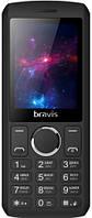 Мобильный телефон Bravis C242 Slim Dual Sim Black