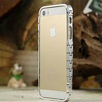 Бампер Aluminum Knuckle для iPhone 5/5S Серебристый