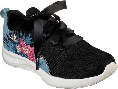 bea287c62588 Женские кроссовки Skechers BOBS Sport Squad 2 Only Locals Sneaker  Black/Multi