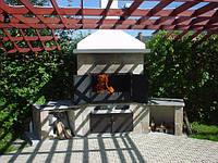 Печь и барбекю для сада
