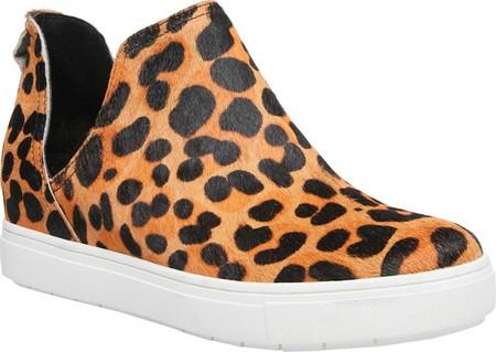 c8573a1a58b2e4 Женские кроссовки STEVEN by Steve Madden Caprice Slip On Sneaker Leopard  Calf Hair - SaleUSA