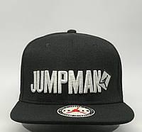 Бейсболка реперская snapback Air Jordan Jumpman 0655 черная реплика