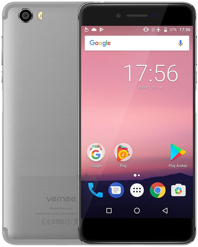 Смартфон Vernee Mars Pro 6/64Gb (grey) оригінал - гарантія!