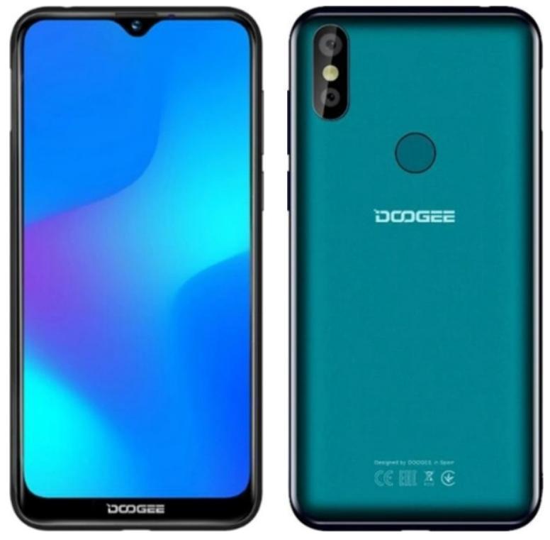 Смартфон Doogee Y8 (green) оригинал - гарантия!