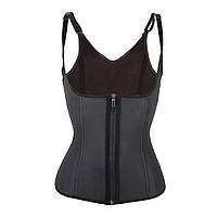 Утягивающий корсет для похудения на бретельках Adjustable shoulder strap corset черный Xxl 141293