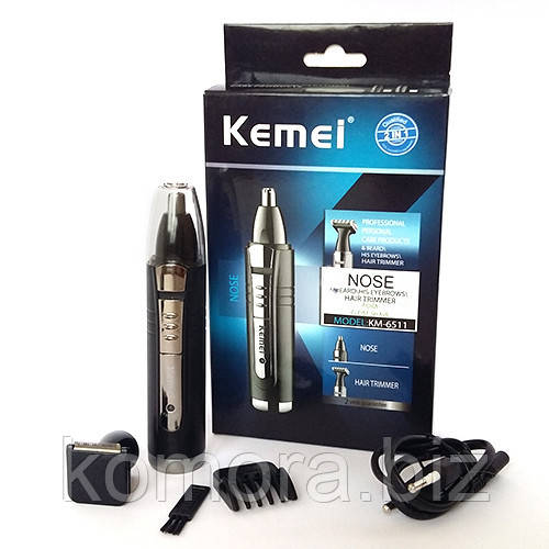 Аккумуляторный Триммер 2 в 1 Kemei KM6511