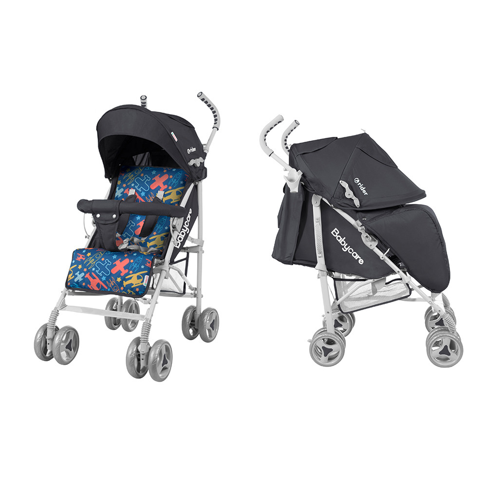 Babycare Прогулочная коляска-трость BABYCARE Rider Grey (BT-SB-0002/1)