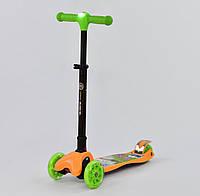 Best Scooter Самокат Best Scooter Leadlight С 40100 Green / Orange (С 40100), фото 1