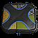 Дорожный органайзер для путешествий Shacke Pack 5 шт Черный с синим (SP002), фото 4