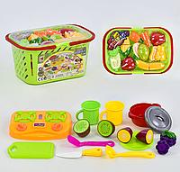 Игровой набор 687 с продуктами на липучках
