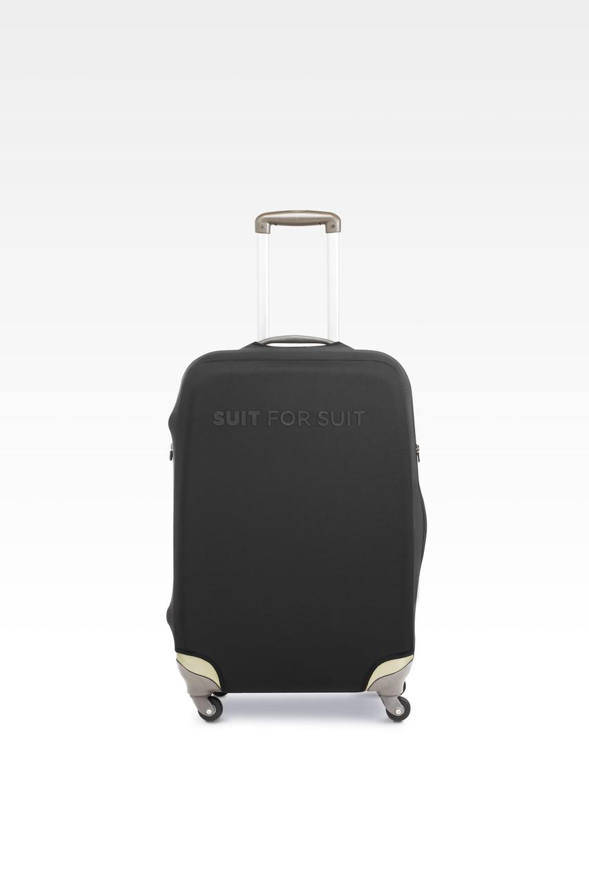 Чехол для чемодана Suit For Suit М Черный (Black_m)